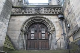 door at St Giles